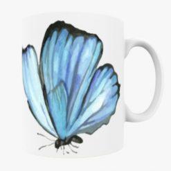 Blue Butterfly Mug - Style 3