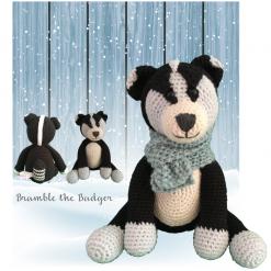 Crochet Pattern: Badger