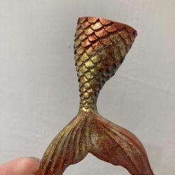 Mermaid tail key ring