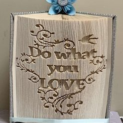 Do What You Love Book Fold