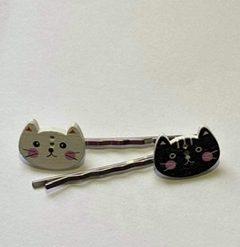 Cute Kittens Bobby Pins (pair)