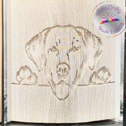 Labrador Book Fold