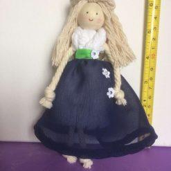 Macrame Cotton doll