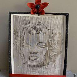 Marilyn Monroe Book Fold