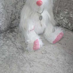 Handmade teddy bear - belle