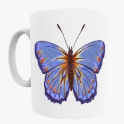 Dark Blue Butterfly mug