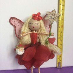Bendy Christmas fairy doll
