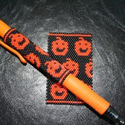 Halloween Pumpkin Even Count Peyote Pen Cover