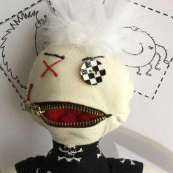 OOAK, Art Doll, Goth, Doll, Keepsake, Fun Doll, PricklesandSpike