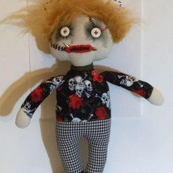 Doll, Halloween, Gift, Keepsake, OOAK, Handmade, PricklesandSpike