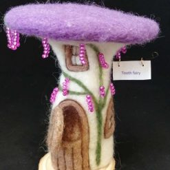 Needle felted Tooth Fairy House