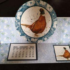 C5 Desk Calendar Safari