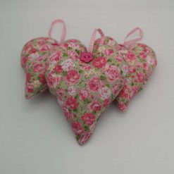 Pretty Set of Three Hanging Hearts