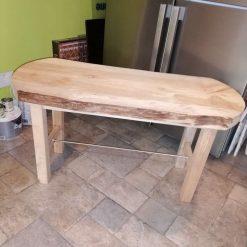 Beechwood table/bench