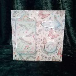 6x6 inch Dragonflies & Butterflies Birthday card