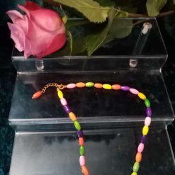 Multi Coloured Magnesite Necklace