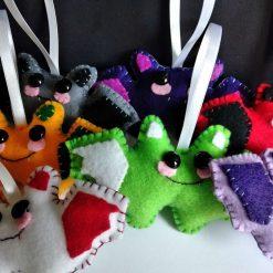 Handmade Cute Halloween Bats