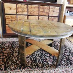 Malt Whisky Barrel table