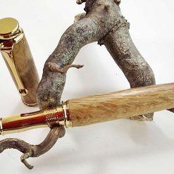 Fountain Pen in Oak (1386)