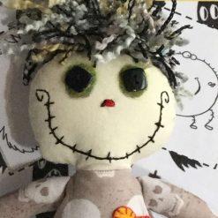 OOAK Art Doll, Goth Doll,Keepsake, Fun Doll