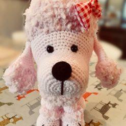 Crochet & Knitting Pattern: Poodle
