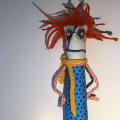 OOAK Art Doll, Goth Doll,Keepsake, Fun Doll, Collectible