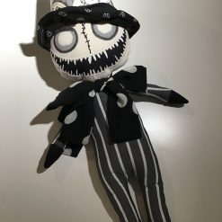 PricklesandSpike, Mr Timekeeper, OOAK Doll, Handmade, Keepsake, Gift, Unusual, Unique Gift.