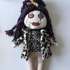 Lexie loves Leopard print, Doll, PricklesandSpike