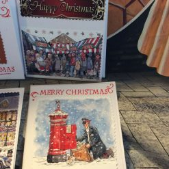Set of 4 Handmade Christmas Cards - Traditional Set One 2