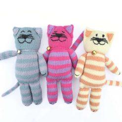 Knitting Pattern: Happy Cats