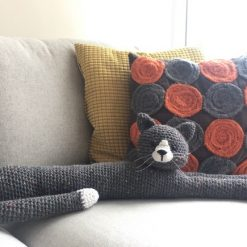 Crochet Pattern: Cat Draught Excluder