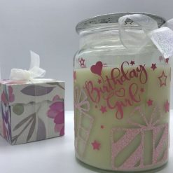 Birthday Candle - Personalised gift - scented candle - From your bestie x