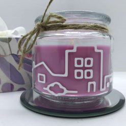 New home candle - gift - personalised