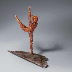Dance Sculpture - If The Stars We're Mine - Wire Sculpture