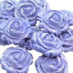 12 Lovely Edible Roses Ideal Cupcake toppers