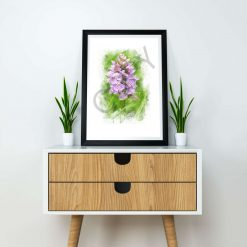 A4 Wild Orchid print