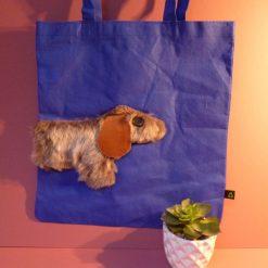 Fun embellished tote bag.