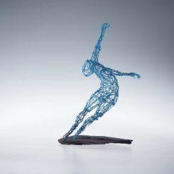 Dance Sculpture - Roll The Dice - Wire Sculpture 13