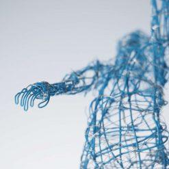Dance Sculpture - Roll The Dice - Wire Sculpture 17