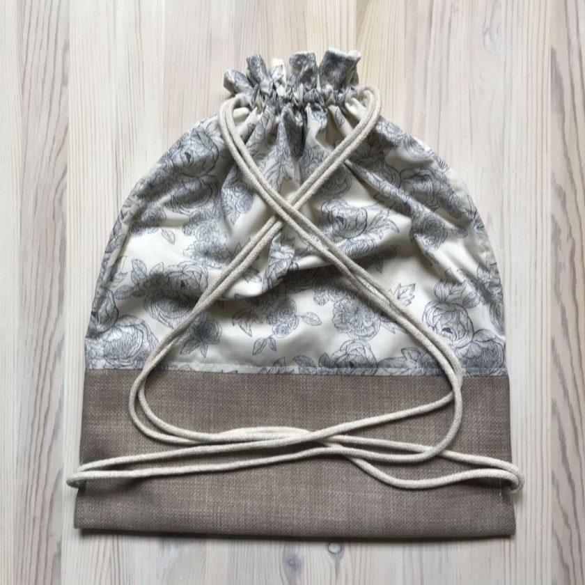 Handmade Drawstring Bag 1