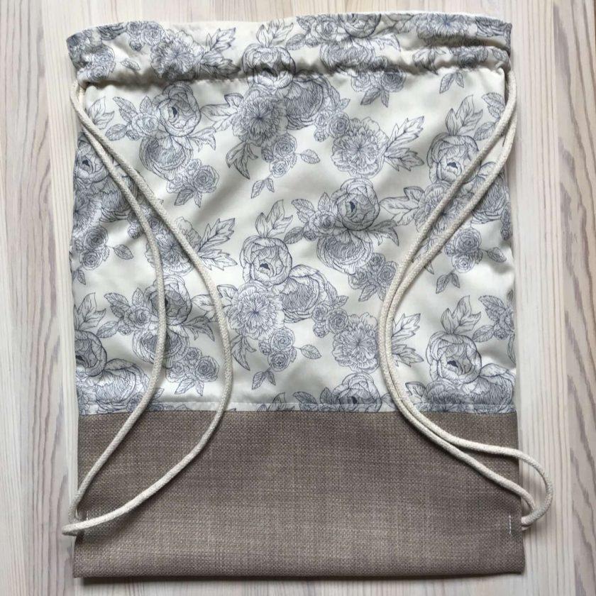 Handmade Drawstring Bag 3