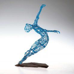 Dance Sculpture - Roll The Dice - Wire Sculpture