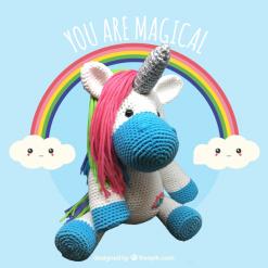 Crochet Pattern: Unicorn