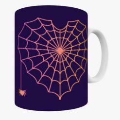 Spider Web Heart