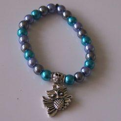 Crown Chakra Elasticated Bracelet
