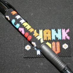 Thank You Even Count Peyote Pen Cover