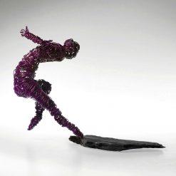 Dance Sculpture - The Believer - Wire Sculpture