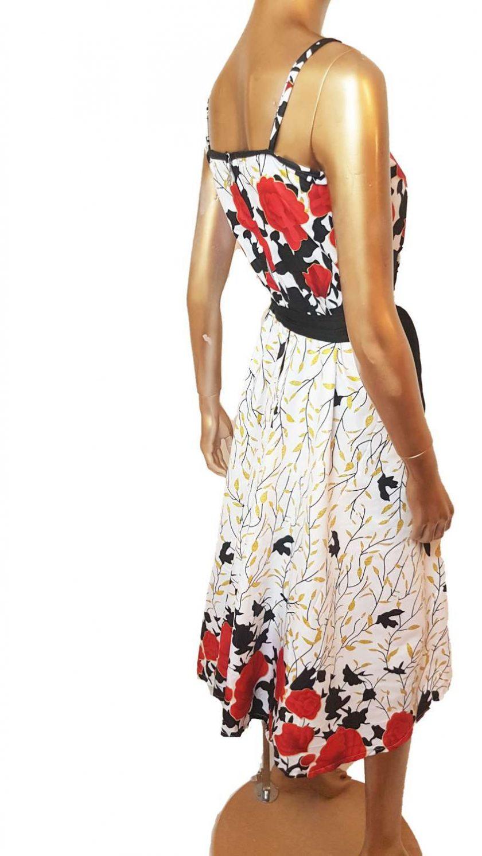 Ankara Red White  maxi dress, print dress, gathered dress, African print dress, Ankara dress, maxi dress, maxi, African clothing, Chitenge 2