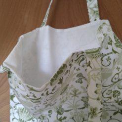 Tote bag green birds 5