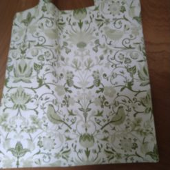 Tote bag green birds 4